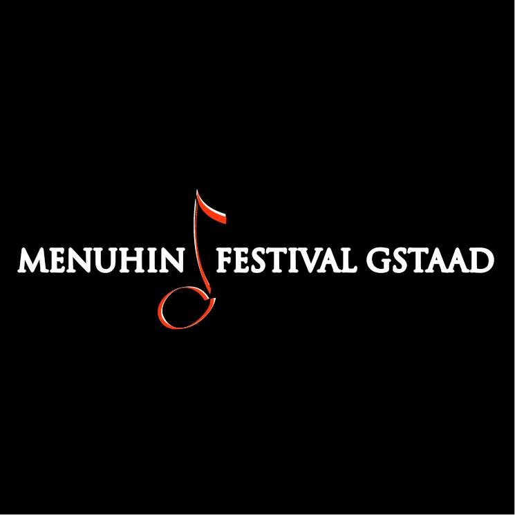 free vector Menuhin festival gstaad