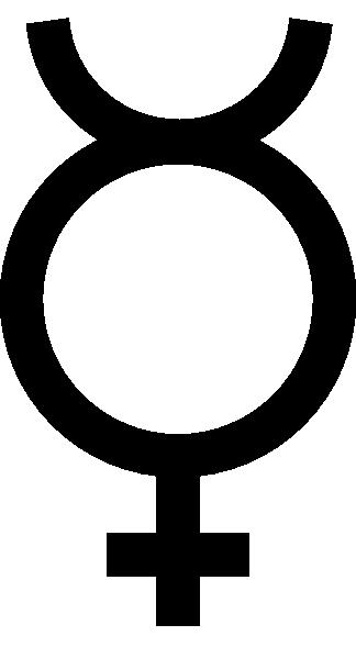 free vector Mercury Symbol clip art