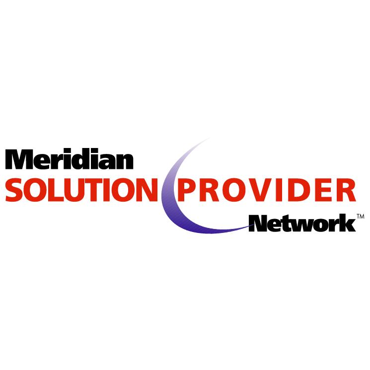 free vector Meridian solution provider