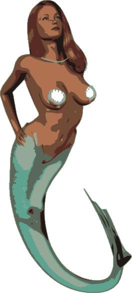 free vector Mermaid clip art