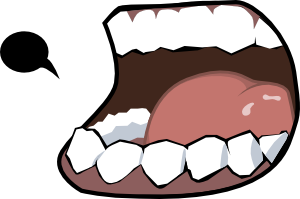 free vector Merzok Dark Mouth clip art