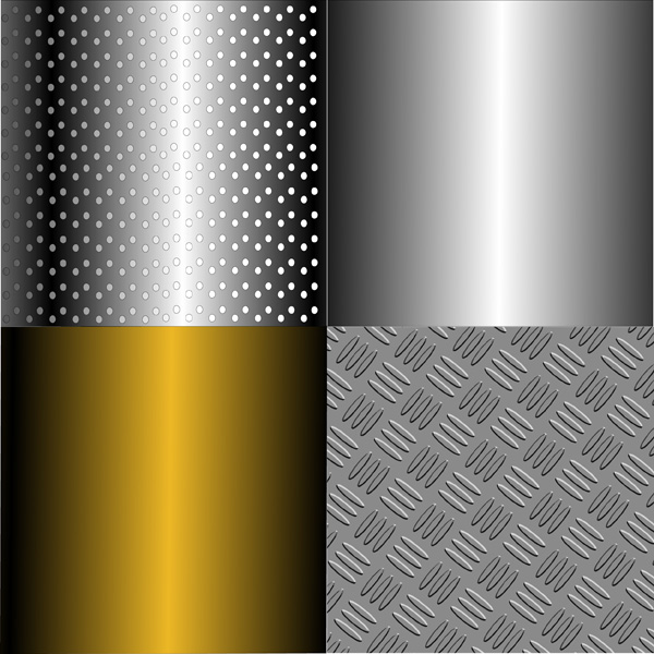 free vector Metal series vector