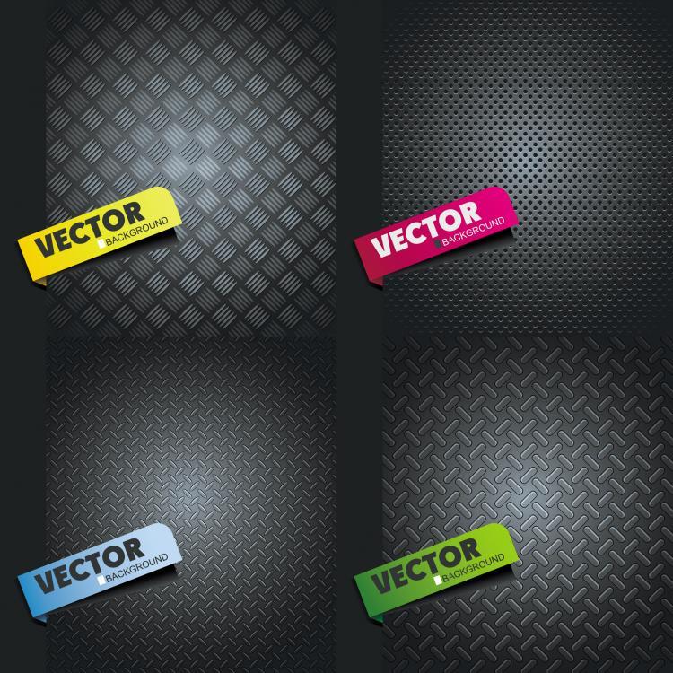 free vector Metal texture vector
