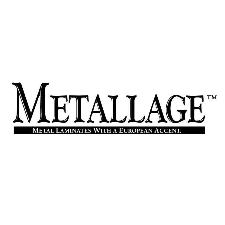 free vector Metallage