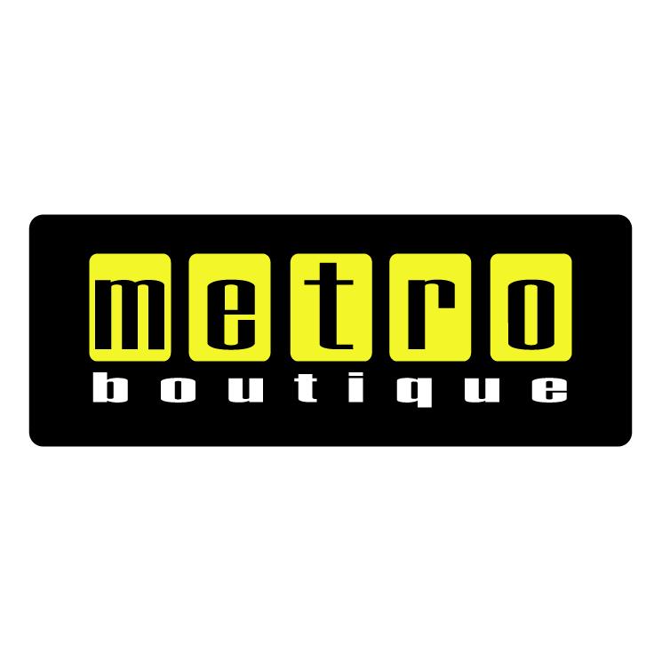 free vector Metro boutique