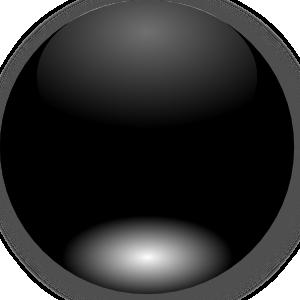free vector Mi Brami Round Black Crystal Button clip art