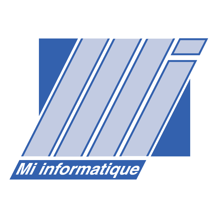 free vector Mi informatique
