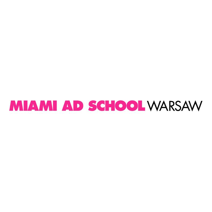 free vector Miami ad school warsaw