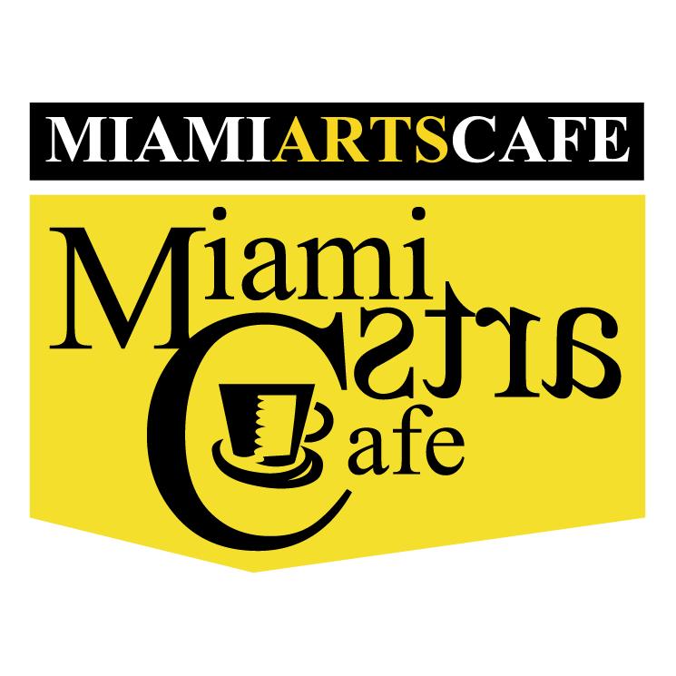 free vector Miami arts cafe 0