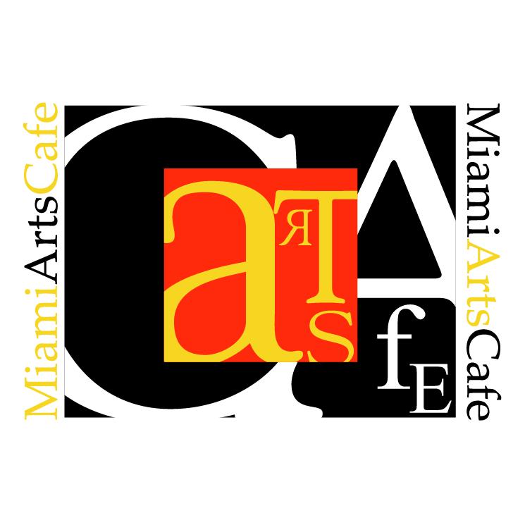 free vector Miami arts cafe 1
