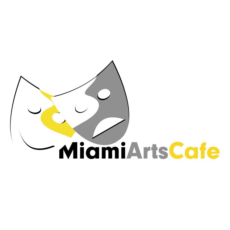 free vector Miami arts cafe 2