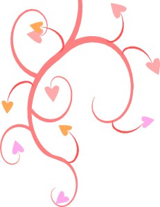 free vector Michaeldarkblue Growing Hearts clip art