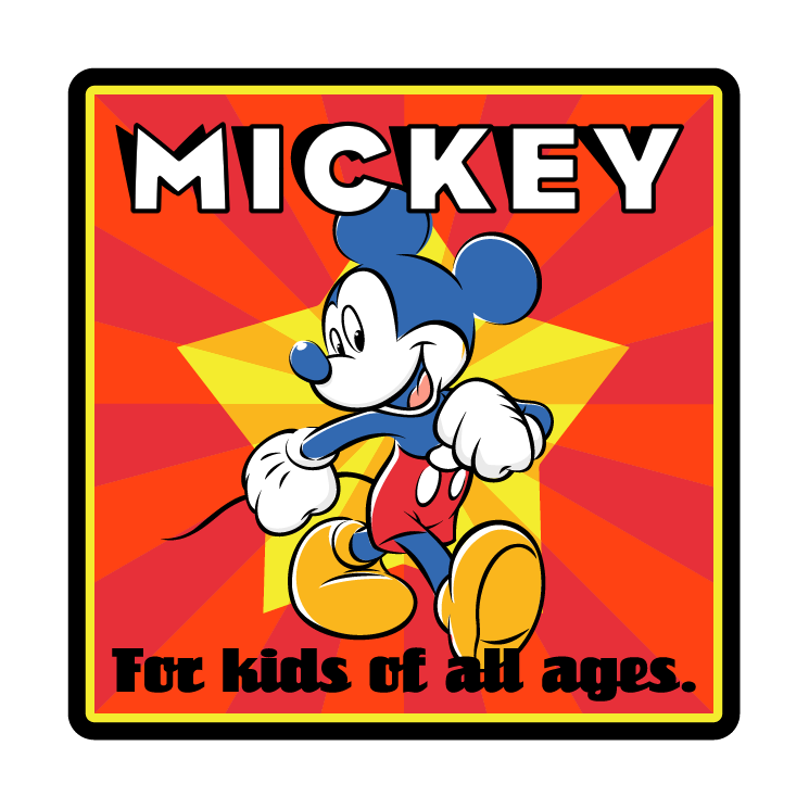 free vector Mickey mouse 29