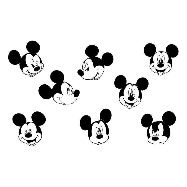 free vector mickey mouse 4
