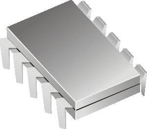 free vector Microchip Electronics Ic clip art