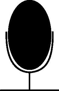 free vector Microphone Symbol clip art