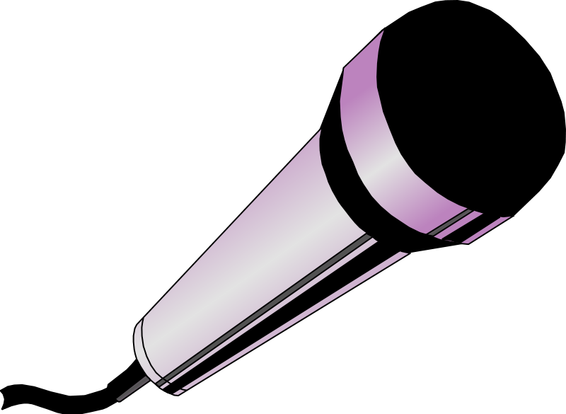 free vector Microphone