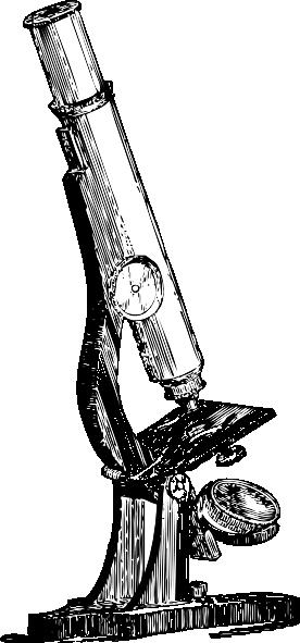 free vector Microscope clip art