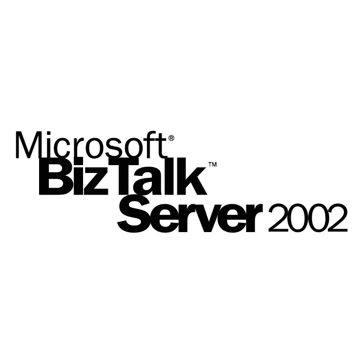 free vector Microsoft biztalk server 2002