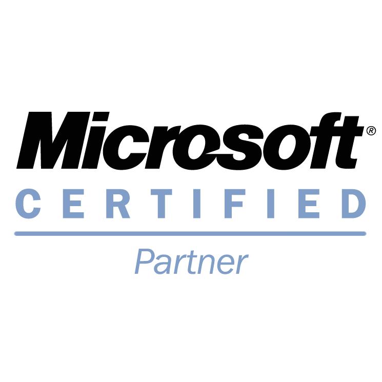 free vector Microsoft certified partner