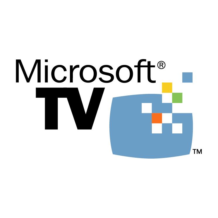 free vector Microsoft tv