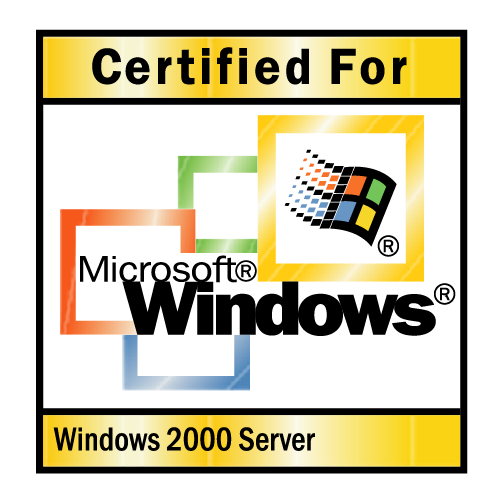 free vector Microsoft windows 2000 server