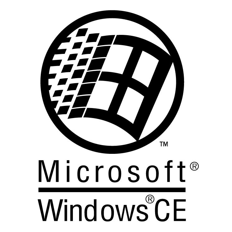 free vector Microsoft windows ce
