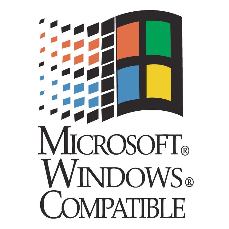 free vector Microsoft windows compatible