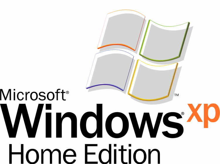 free vector Microsoft windows xp home edition