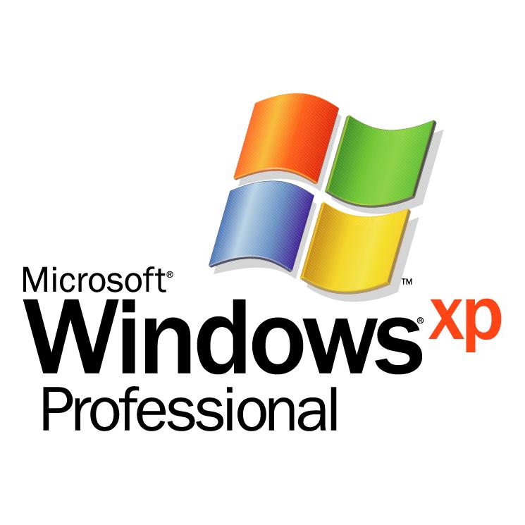 free vector Microsoft windows xp professional 0