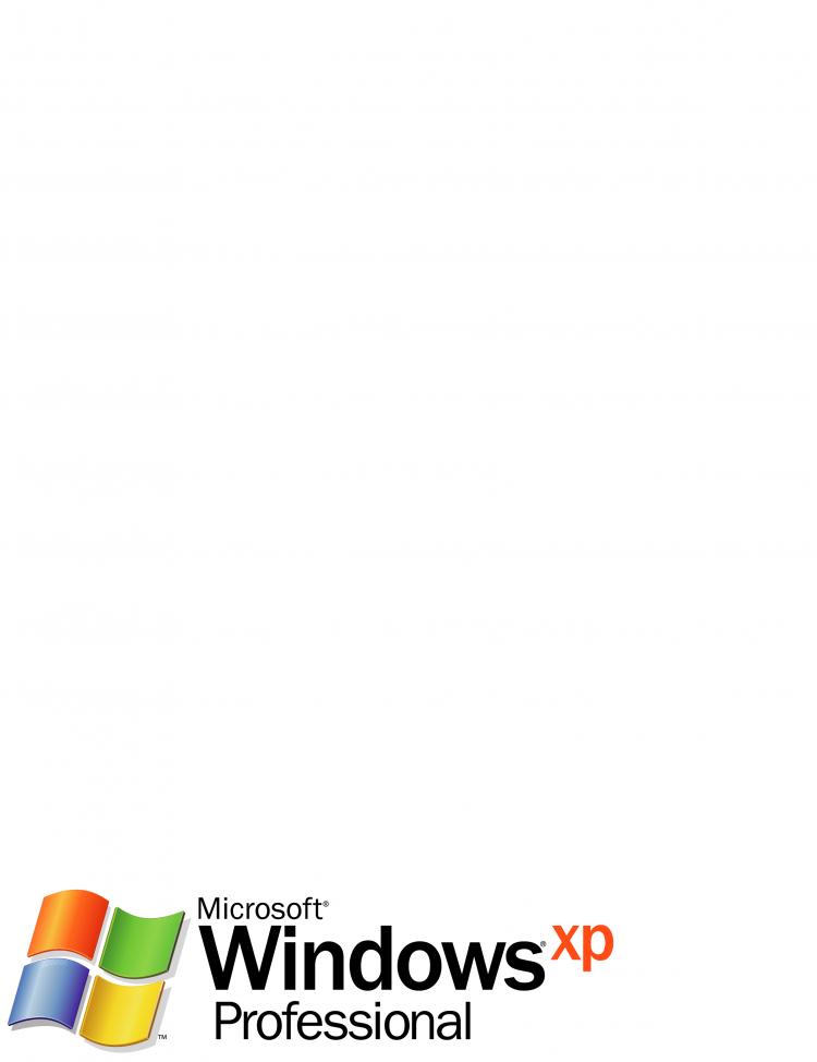 free vector Microsoft windows xp professional