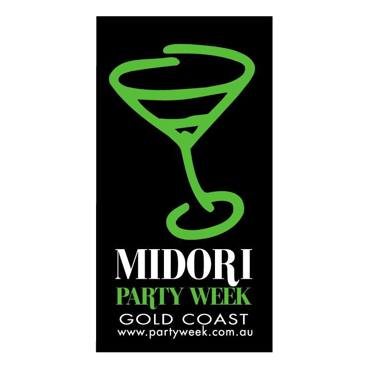 free vector Midori party week
