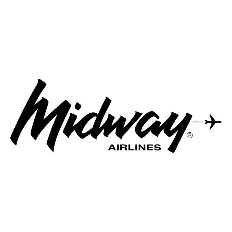 free vector Midway airlines 0