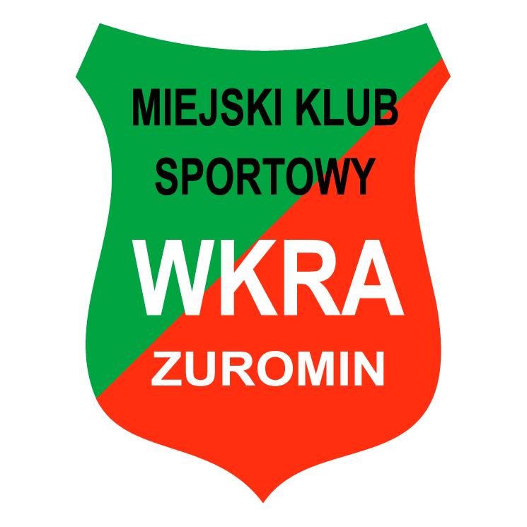 free vector Miejski klub sportowy wkra zuromin