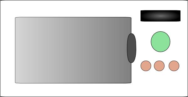 free vector Mikrovlnna Trouba clip art