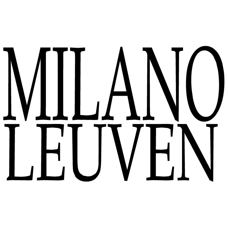 free vector Milano leuven