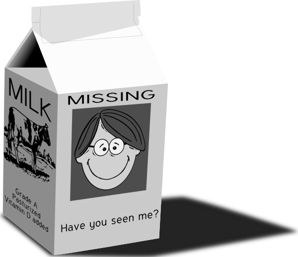 free vector Milk Carton clip art