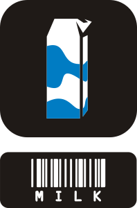 free vector Milk Carton clip art