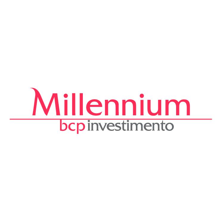 free vector Millennium bcp investimento