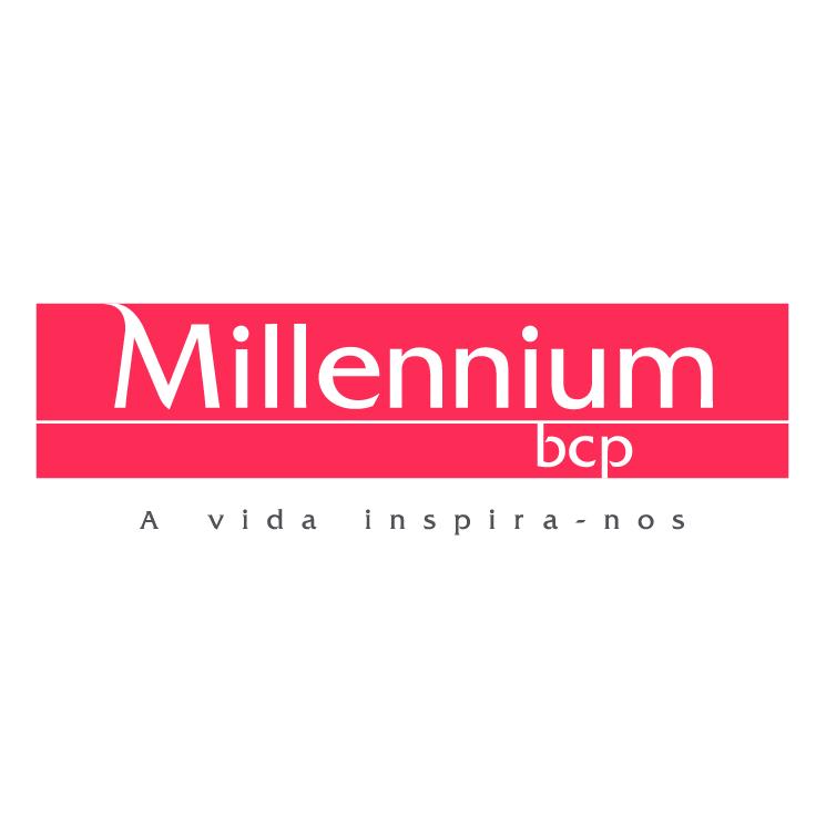 free vector Millennium bcp