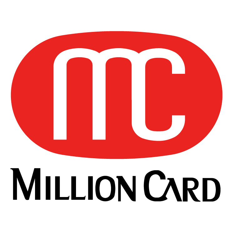 free vector Million card