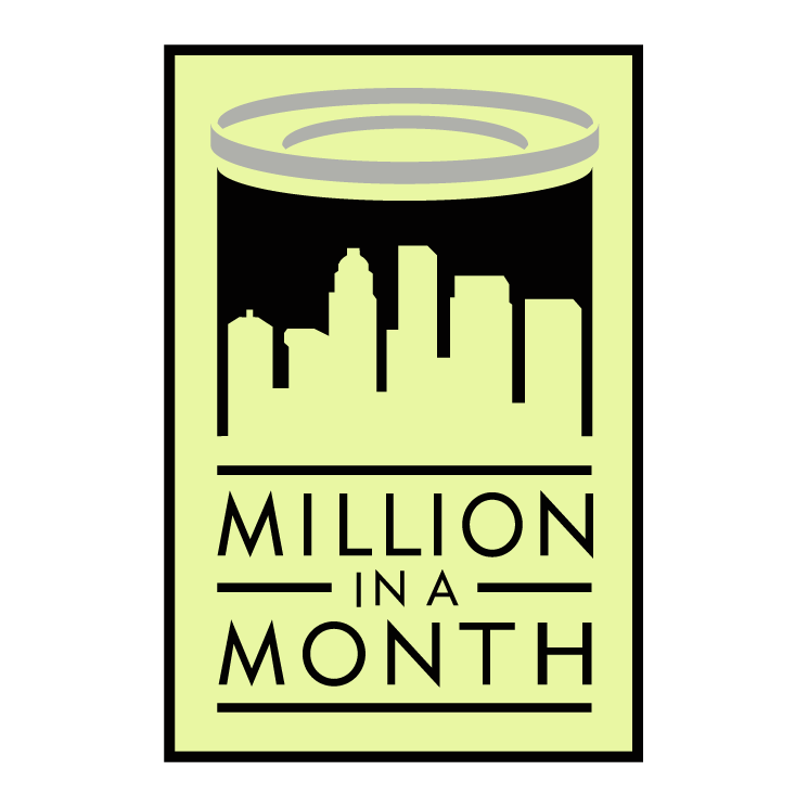 free vector Million in a month