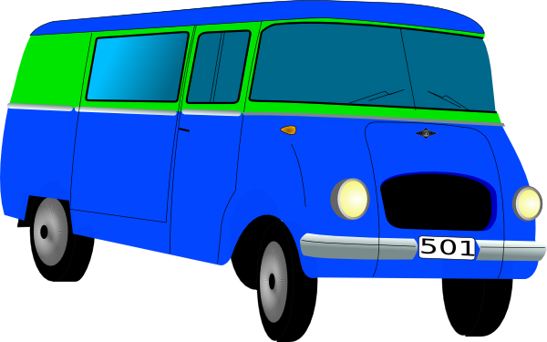 free vector Mini Bus clip art