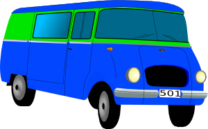 free vector Mini Bus clip art