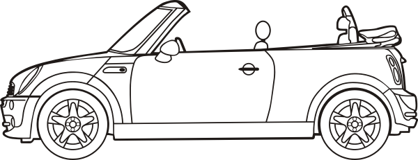 mini cooper panel coloring pages - photo#30