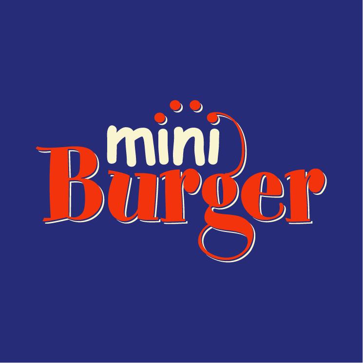 free vector Miniburger