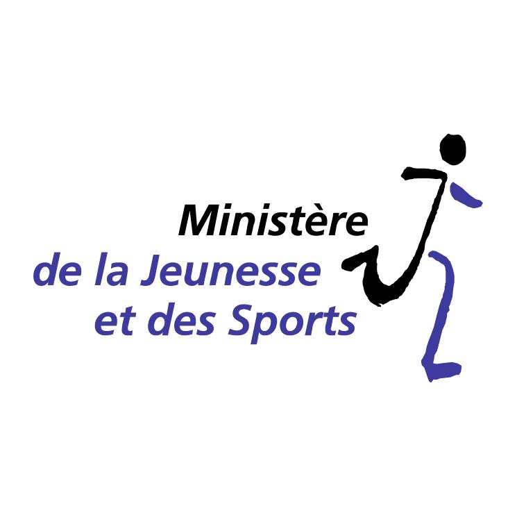 free vector Ministere de la jeunesse et des sports