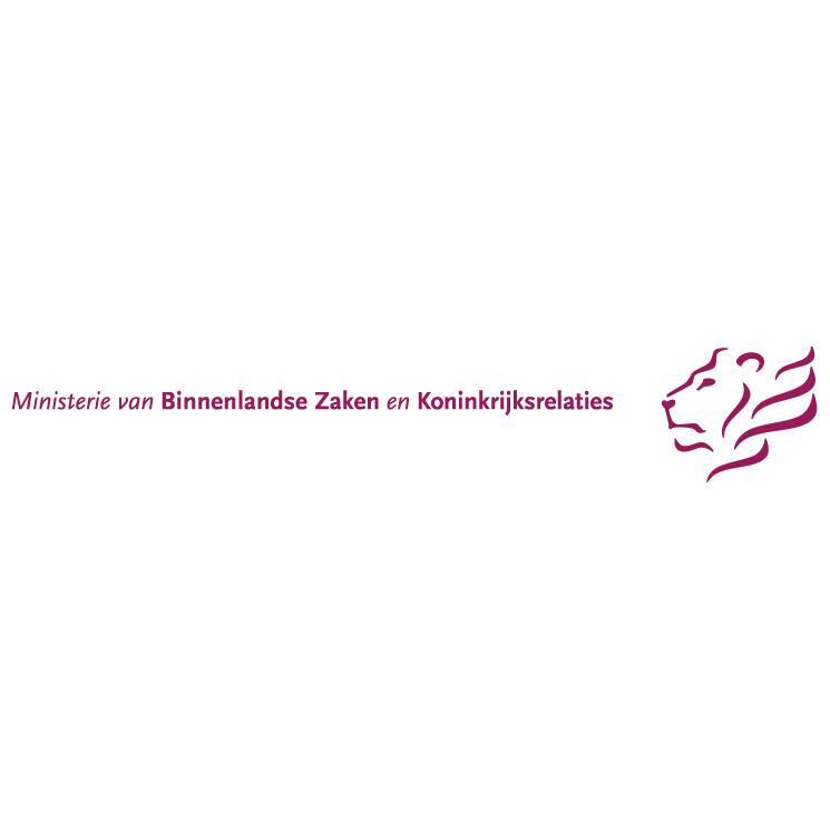 free vector Ministerie van binnenlandse zaken en koninkrijkrelaties