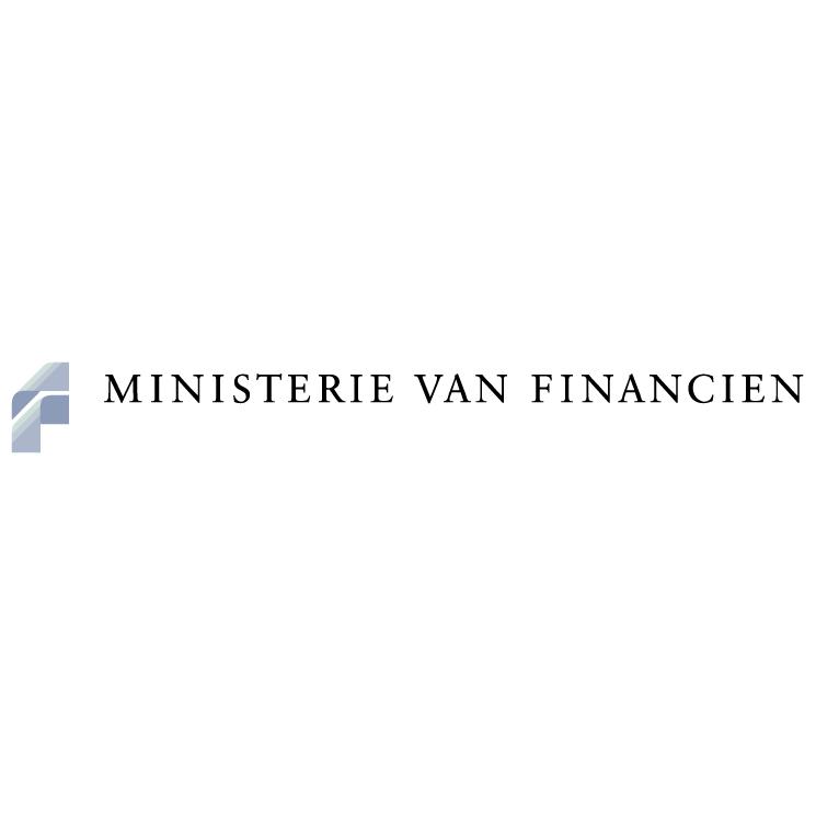 free vector Ministerie van financien 0