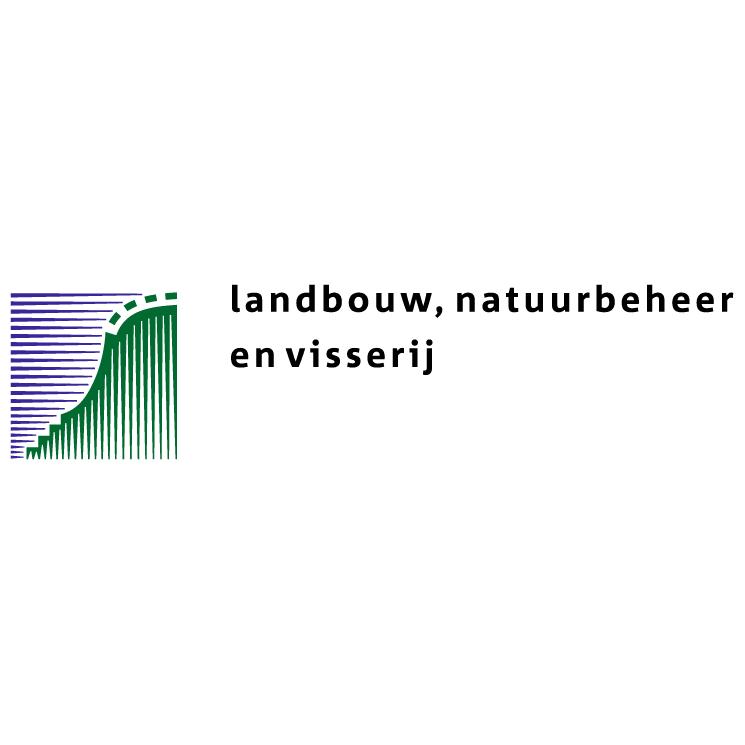 free vector Ministerie van landbouw natuurbeheer en visserij